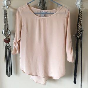 Tops - Shear Pink Blouse